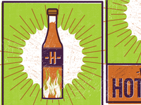 Hot Sauce Label