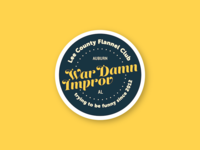 Improv Comedy Sticker