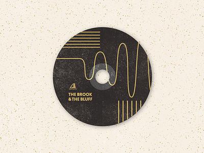 CD Design lines textured album music collage shapes design cd