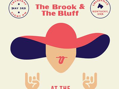 Kentucky Derby Gig Poster band minimal illustration badges typography music poster gig