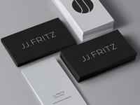 JJ Fritz Logo & Business Card Design