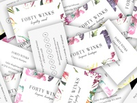 Forty Winks Business Cards