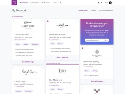 Dashboard Design product design purple dashboard web design