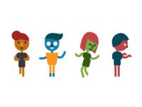 Storyboard Character Designs