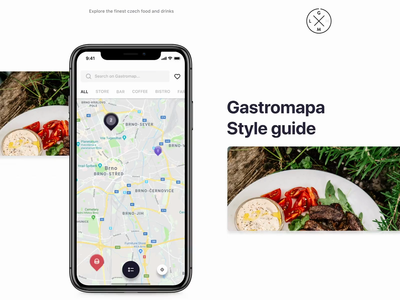 Gastromapa - Style guide