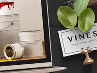 Vines logo design