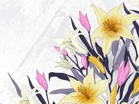 Lily pattern design
