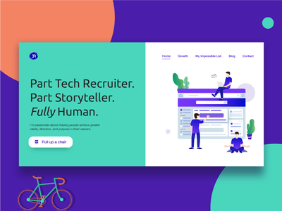 Experience Recruitment - uxui ux design ui design storytelling illustration daily design character