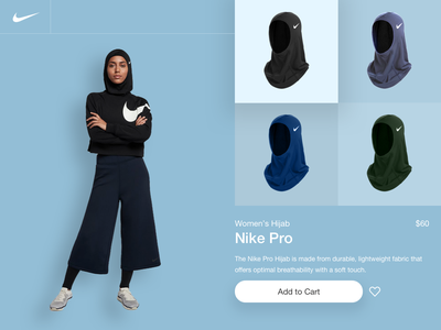 Nike Pro nike cart online shopping ecommerce fashion sports desktop design case study user experience ux illustration shots daily ui daily design