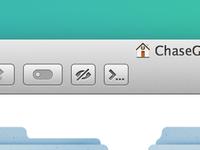 Finder Toolbar Button Template