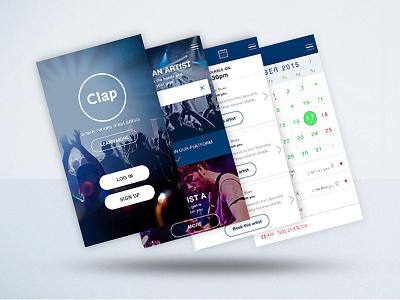 Clap - UI clap artist music
