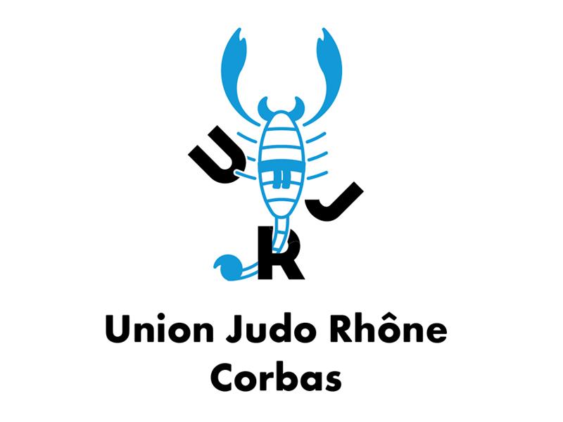 Logo | UJR scorpion pictogramme logo graphic design icon typography judo lettering