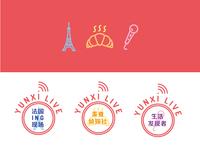 Logo and icons | YunxiLive