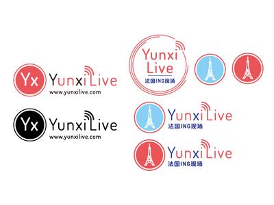 Logo and icon | YunxiLive-法国ING现场 eiffeltower eiffel france live radio icon logo