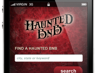 Haunted BnB Mobile Site Preliminary Design