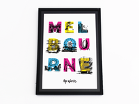 Mo Works 'Sights Of Melbourne' Pitch (In-House Poster)