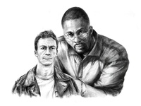 'The Wire' Illustration