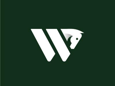 Whitehorse Logo Concept clean design black and white minimal city logo city branding animal logo typography minimalist logo illustrator vector branding identity design logo brand