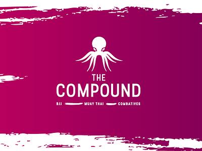 The Compound kraken martialarts jiujitsu branding mma