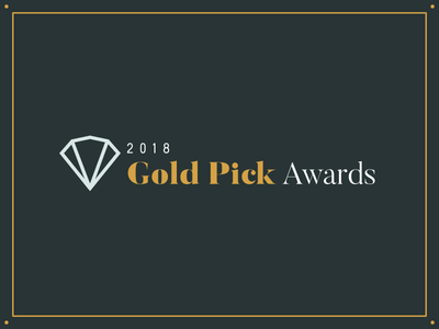 2018 PRSA Gold Pick Award Identity prsa branding event