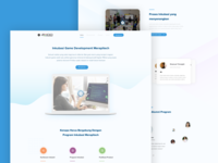 Course and Bootcamp Workshop Company - Landing Page Concept