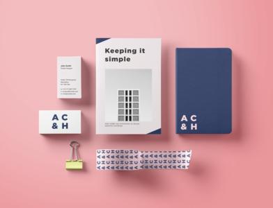 Minimal Architect Brand and Stationary