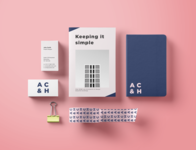 Minimal Architect Brand and Stationary
