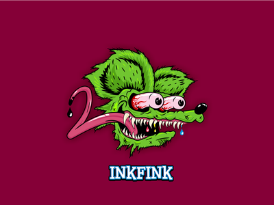 Inkfink Logo Dribbble