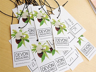 Devon industries hang tagsbusiness cards by daniel genser dribbble di moo cards reheart Gallery