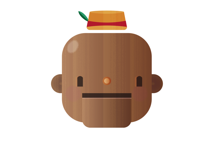 Pinocchio - concept character design character cartoon illustration flat vector