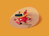 EDP  Robot Sticker