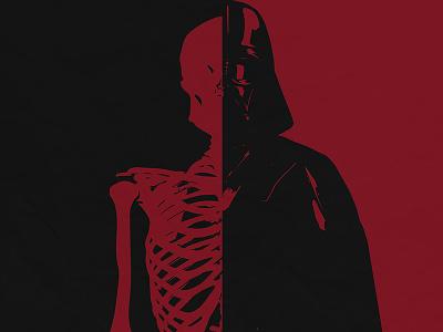 Darth Vader duel colors starwars vader darth vector adobe illustrator