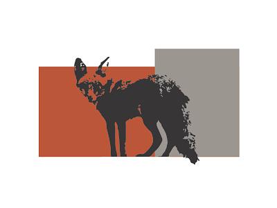 The Fox logo branding fox design design logo illustrator adobe