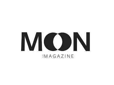Moon Magazine modern magazine cover magazine collateral moon magazine magazine mockup magazine graphic design magazine graphic design illustrator adobe illustrator