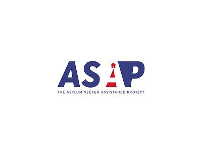 ASAP Logo red white blue negative space logo logo contest contest asap logo patriotic logo logo illustrator graphic design illustrator adobe illustrator