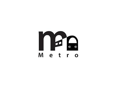 Metro Logo logo process design new york metro logo train metro design logo adobe illustrator logo