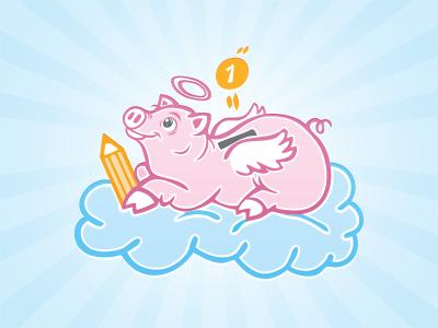 Piggy bank ilustration