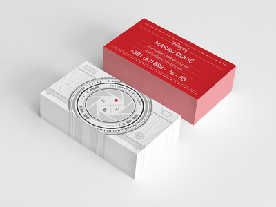 New business cards for photographer hipster line art lines photography photographer business cards busines card design