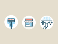 Window Cleaning Icons