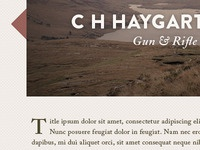 Haygarth Website
