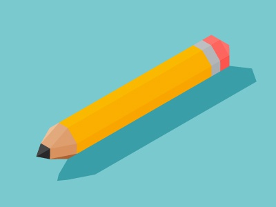 Hb pencil isometric
