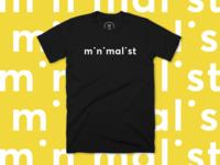 Minimalist Tshirt design