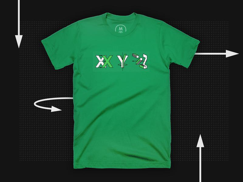 xyz tshirt designchiara mensa on dribbble