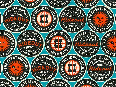 TGIHC Badges portfolio freelance patch lockup art design dribbble badge identity typography logo graphic design branding illustration
