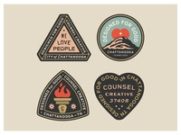 CC Badge set