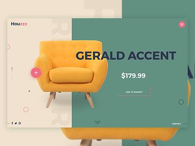 Furniture Website sofa ecommerce tamarashvili shop giga less is more color furniture e-commerce store landing website product