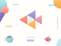 Fish & Color & Geometric