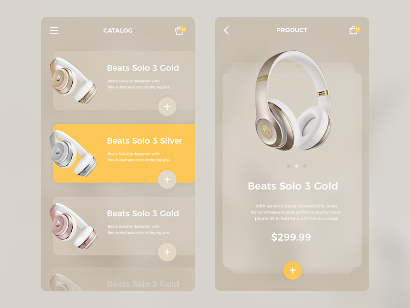 Headphones App headphone mobile app color store e-commerce product shop ui ux headphones