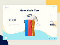 E-commerce shop UI