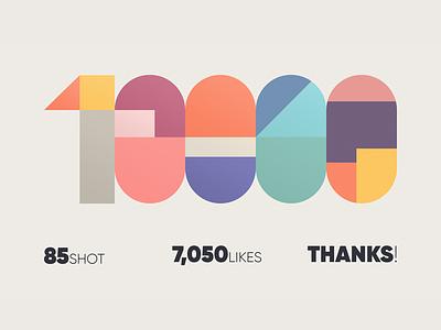 10K Followers! followers follower colours typography 10000 10k colors